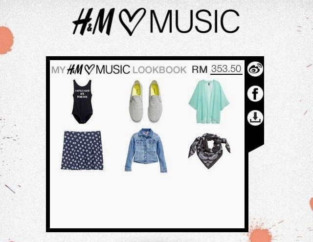 Lookbook, H&M Loves Music Skull Candy 1